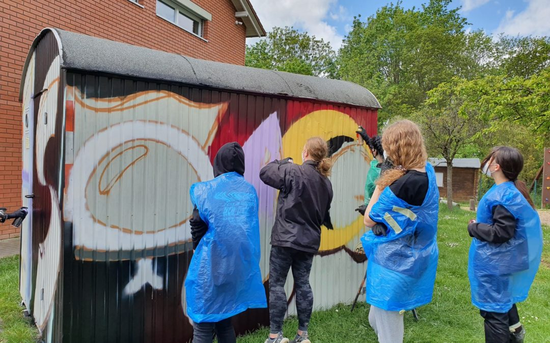 "Graffiti-Künstler ""Semor"" gibt Workshop"